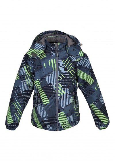 Куртка Граффити зеленый