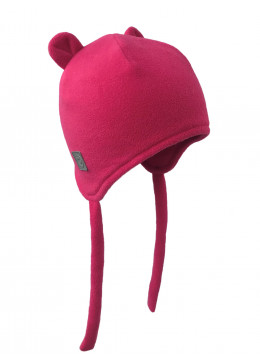 Шапочка-бини розовая