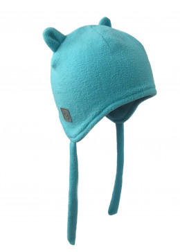 Шапочка-бини голубая